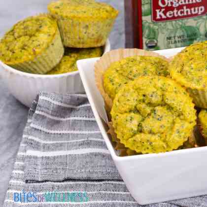 Whole30 Broccoli Cheese Muffins