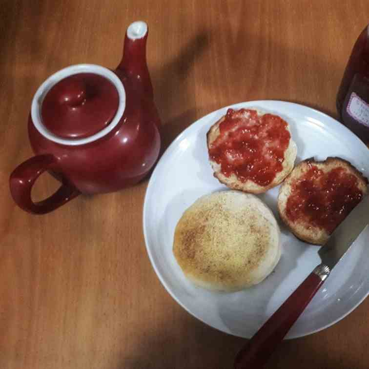 Cast Iron Skillet English Muffins