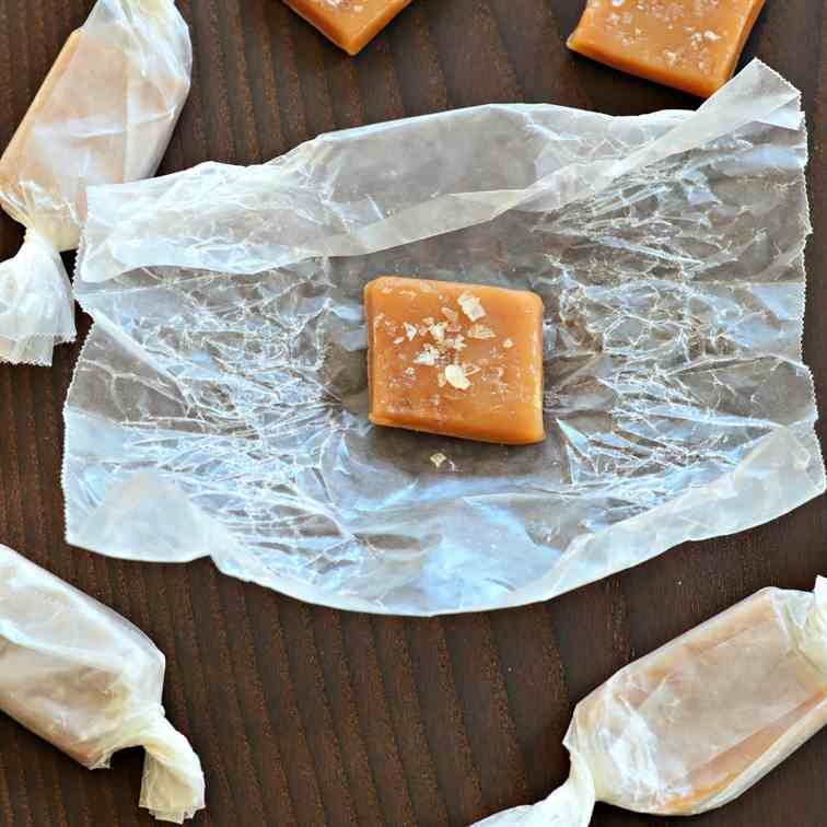 Chile Smoked Salt Caramels