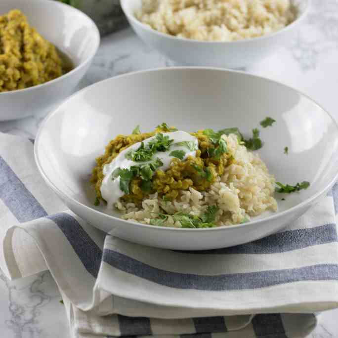 Easy Indian Red Lentils