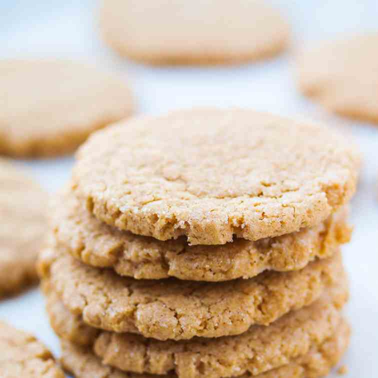 High Altitude Peanut Butter Cookies