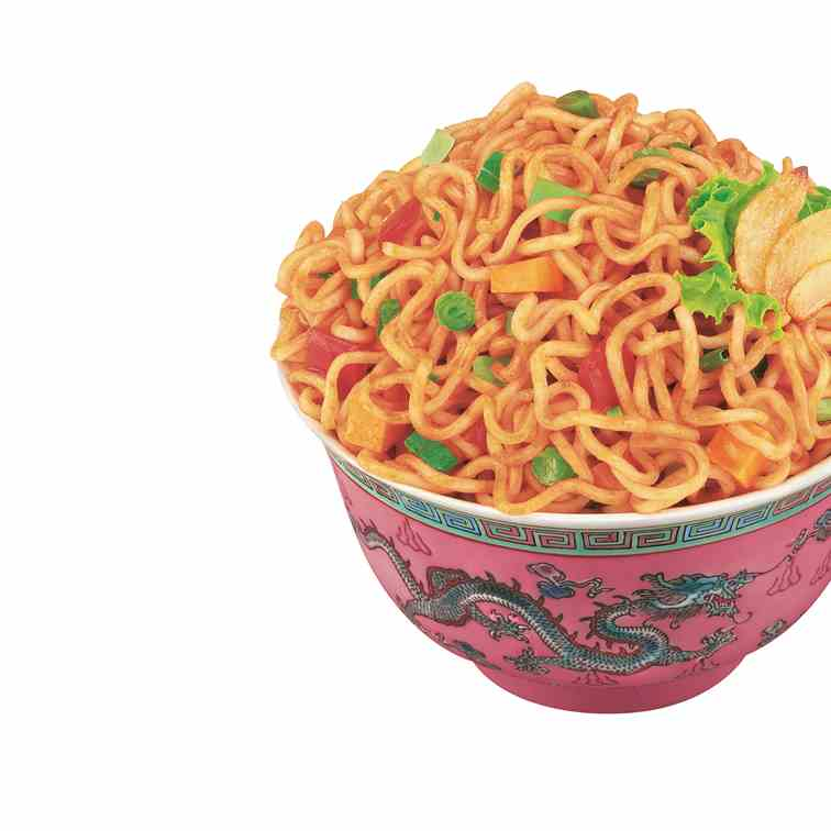 How to make Hot Garlic Instant Noodles