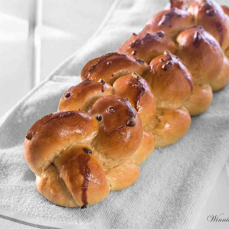 Decorated Rich Challah