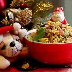 East & West meet in Christmas Rice