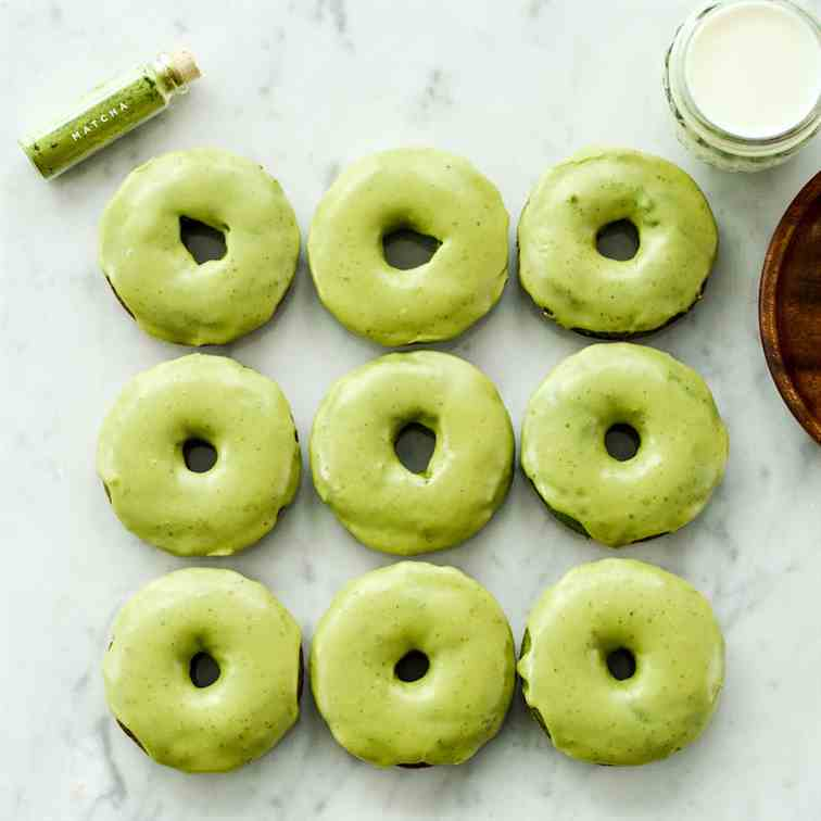Baked Paleo Spinach Donuts