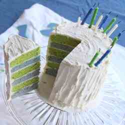 Seahawks Layer Cake