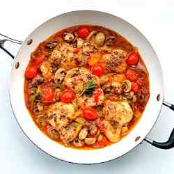 Chicken Cacciatore (Italian Hunter's Chick