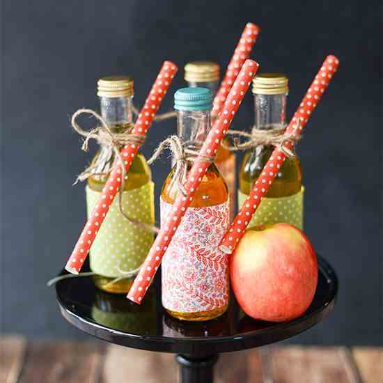 Homemade Sparkling Apple Cider