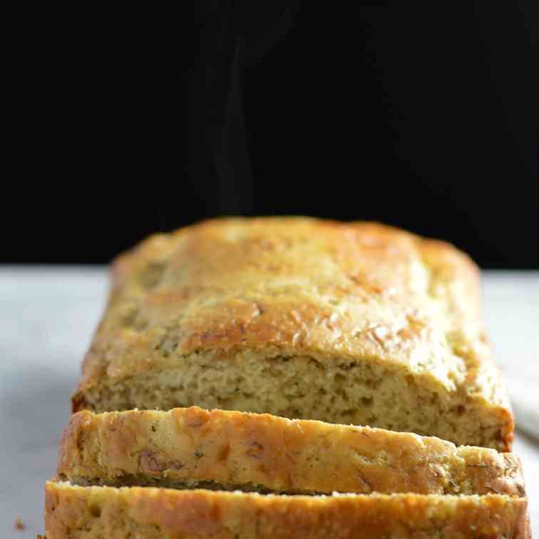 Healthy Hemp Heart Banana Bread