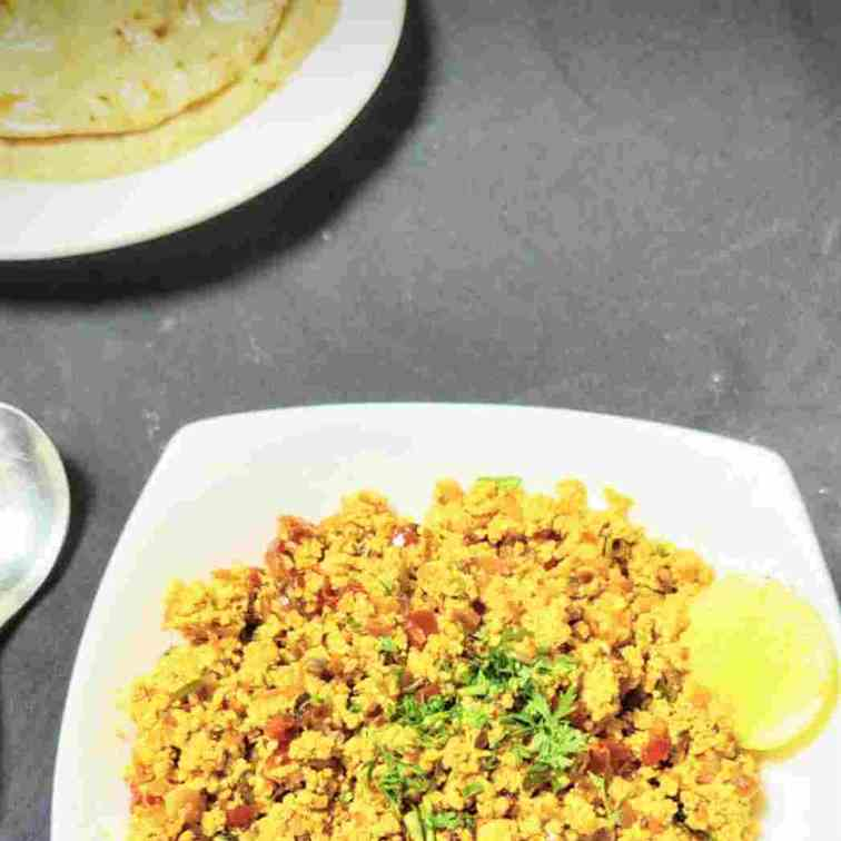 Paneer bhurji recipe (cottage cheese bhurj