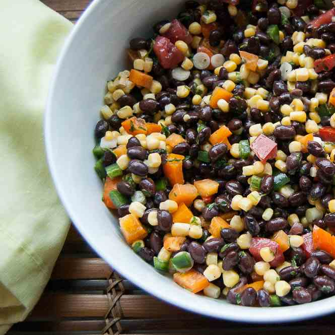 Black Bean - Corn Salad