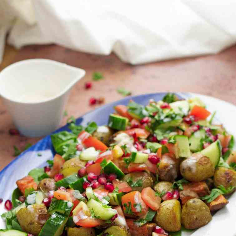 Roast Potato Salad