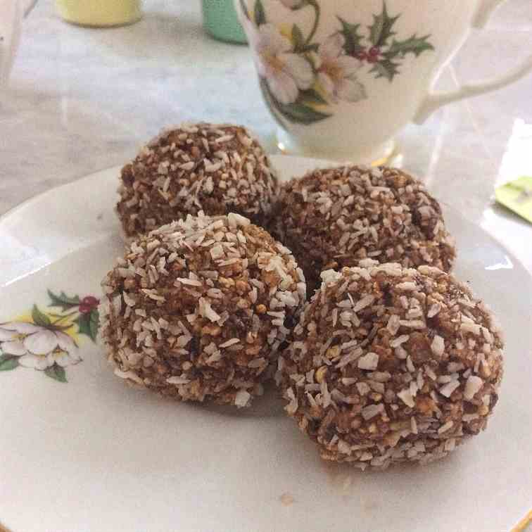 Coconut and Chia Energy Ball