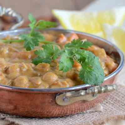Pumpkin Chickpea Curry