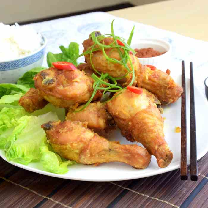 Easy fried chicken recipe (Asian flavor)