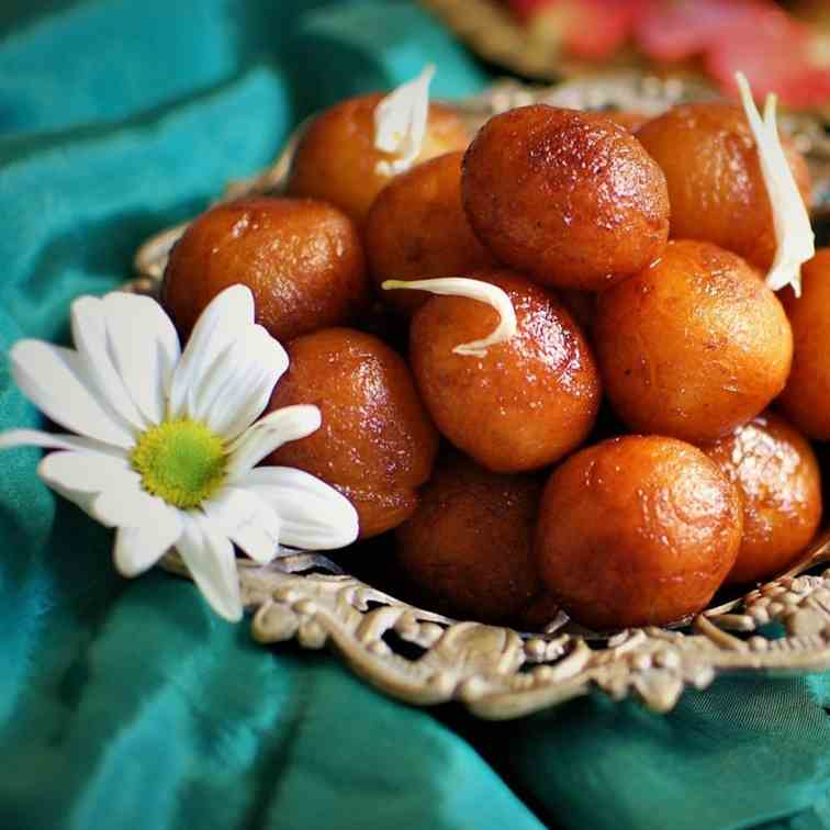 Gulab Jamun - Indian Sweet
