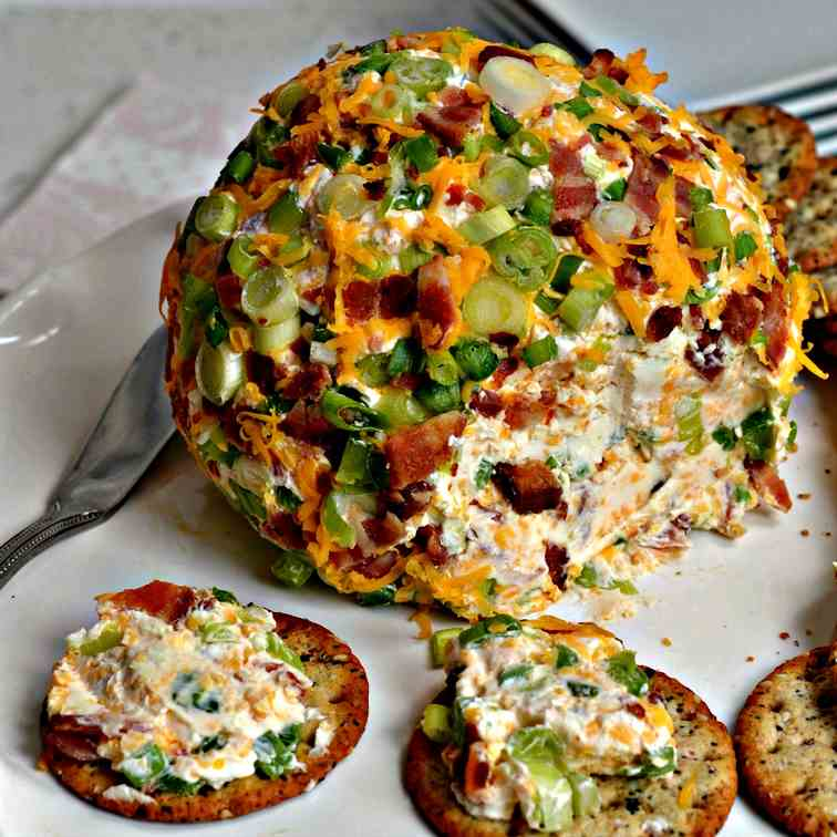 Jalapeno Popper Cheese Ball Recipe