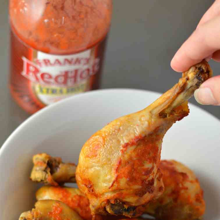 Crockpot Spicy Chicken Drumsticks