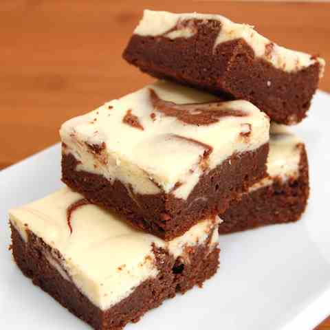 Irish Cream Cheesecake Brownies