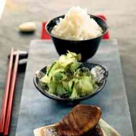 Barbecued Tuna Teriyaki Recipe