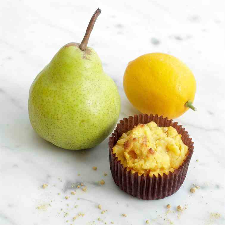 Lemon & Ginger Pear Muffins