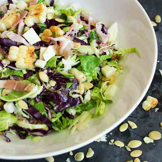 Brussels Sprout - Pancetta Salad