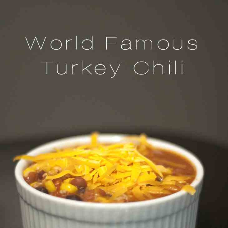 World Famous Turkey Chili