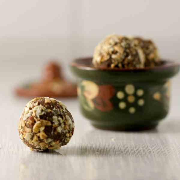 Fig Truffles With Rum