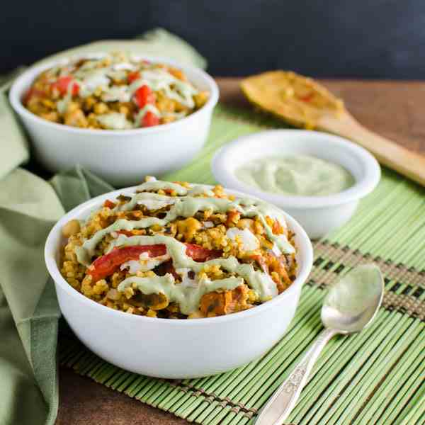Chickpea Bulgur Wheat Recipe