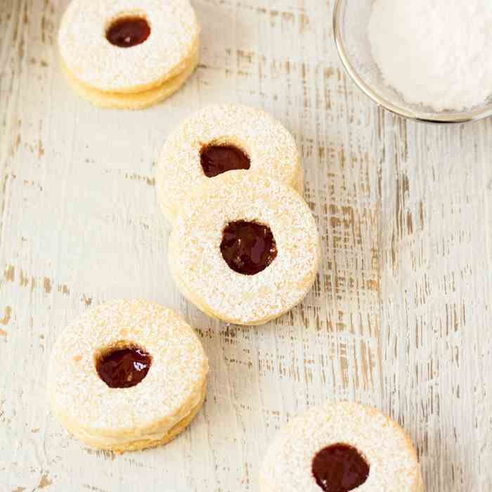 Jam - Coconut Cookies