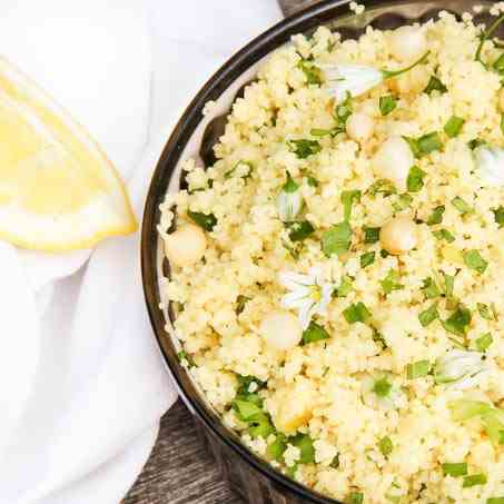 Couscous Salad with Lemon Chutney