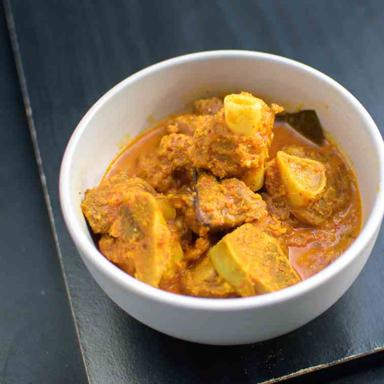 Simple Mutton - Goat Curry