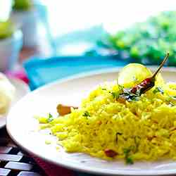Lemon Rice or Lime Rice