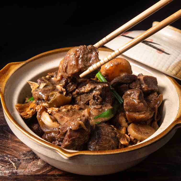 Instant Pot Chinese Lamb Stew