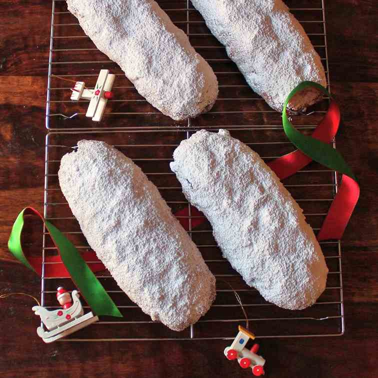 Holiday Marzipan Stollen