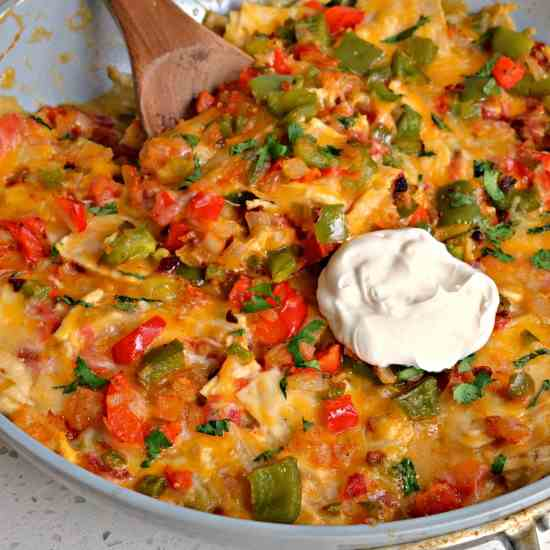 King Ranch Chicken (No Canned Soup)