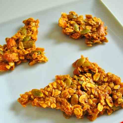 Dulce de Leche and Almond Granola Shards