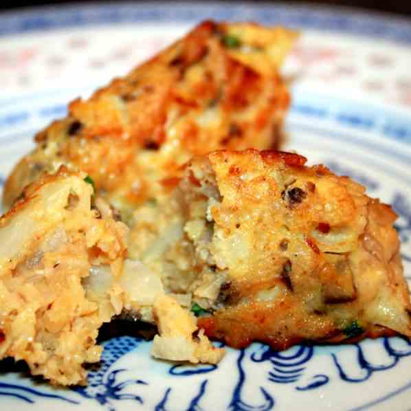Brown Rice and Vegetable Cakes