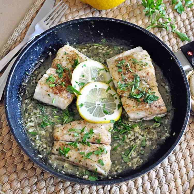 Spanish Hake in Green Sauce
