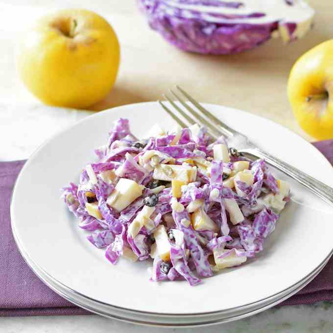 Opal Apple - Red Cabbage Salad