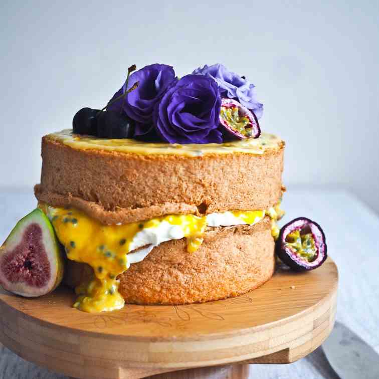 The Passionfruit Sponge