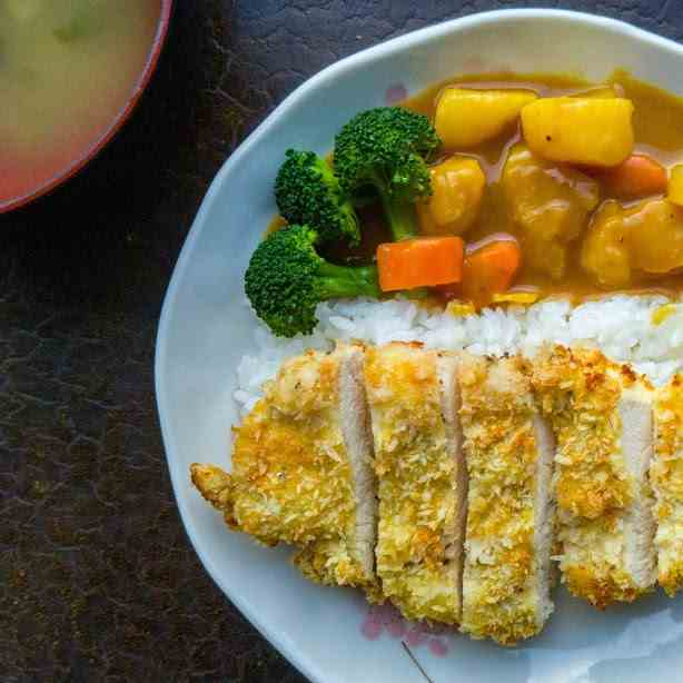 Chicken Katsu with Curry