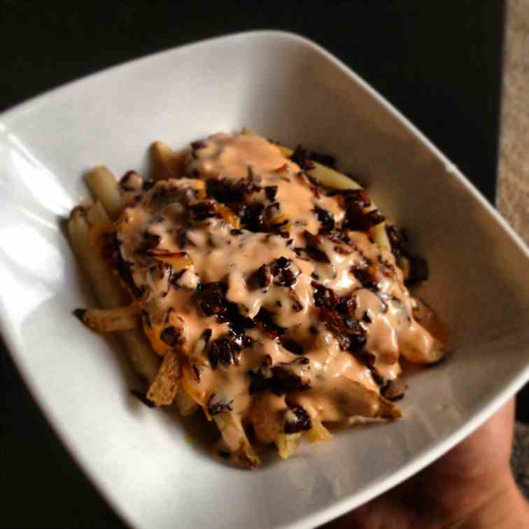 Homemade Animal Style Fries