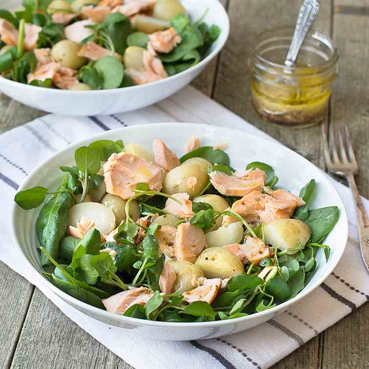 Salmon - New Potato Salad