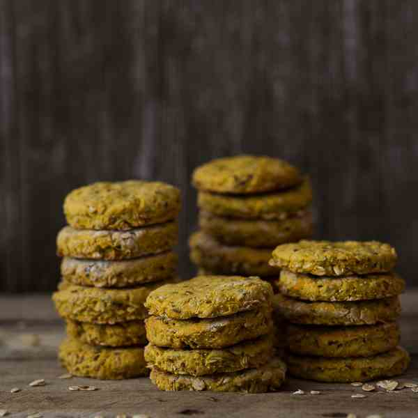 Pumpkin oatmeat cookies