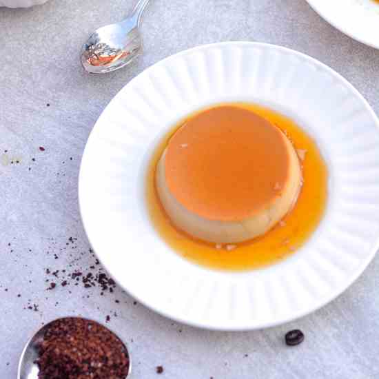 Vietnamese Coffee Flan-