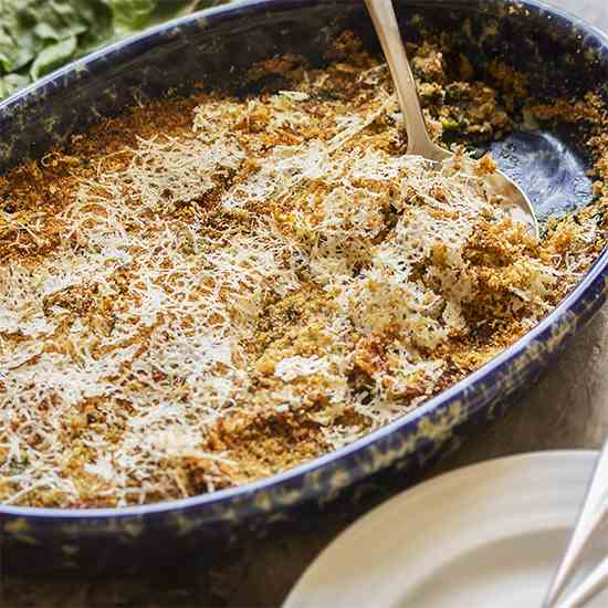 Easy Swiss Chard Gratin