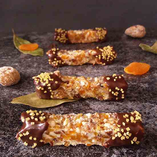 Cashew Nut and Fruit Bars