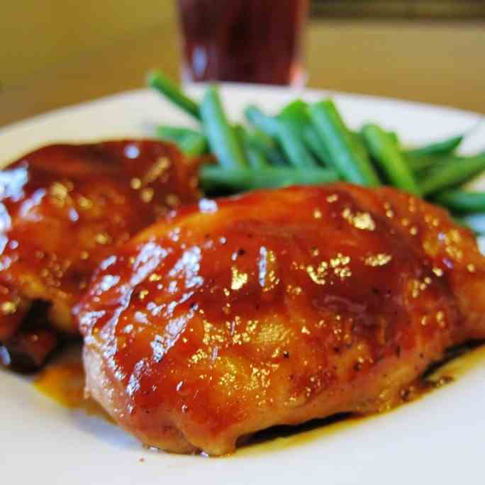 Oven Baked BBQ Chicken
