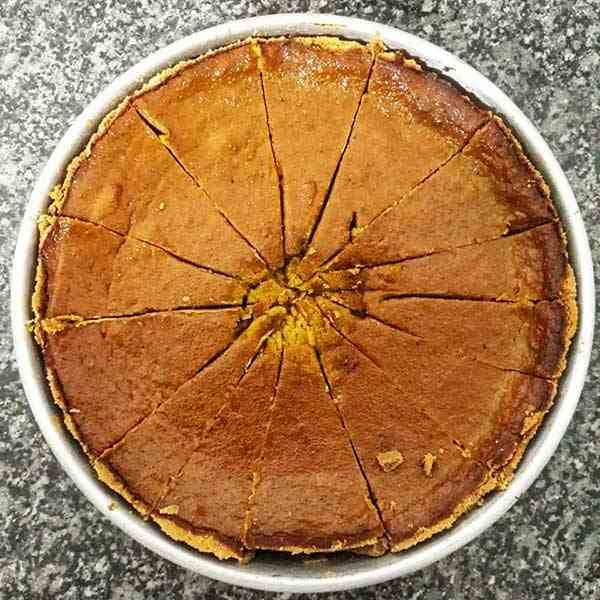 Fresh Ginger Cookie Crust Pumpkin Pie
